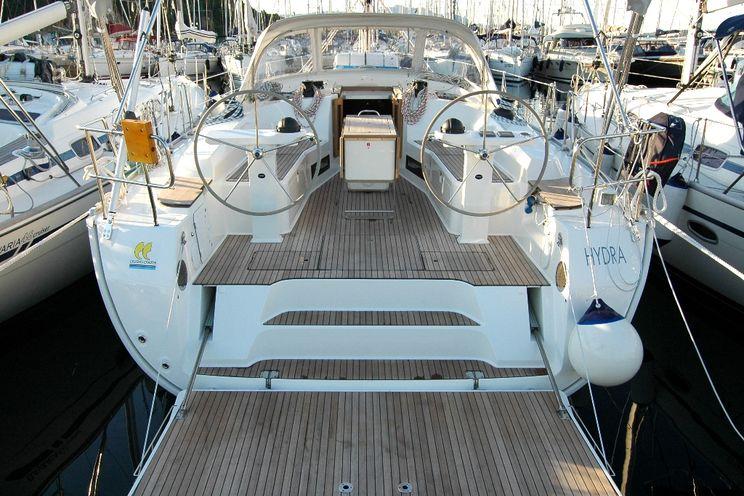 Charter Yacht Hydra