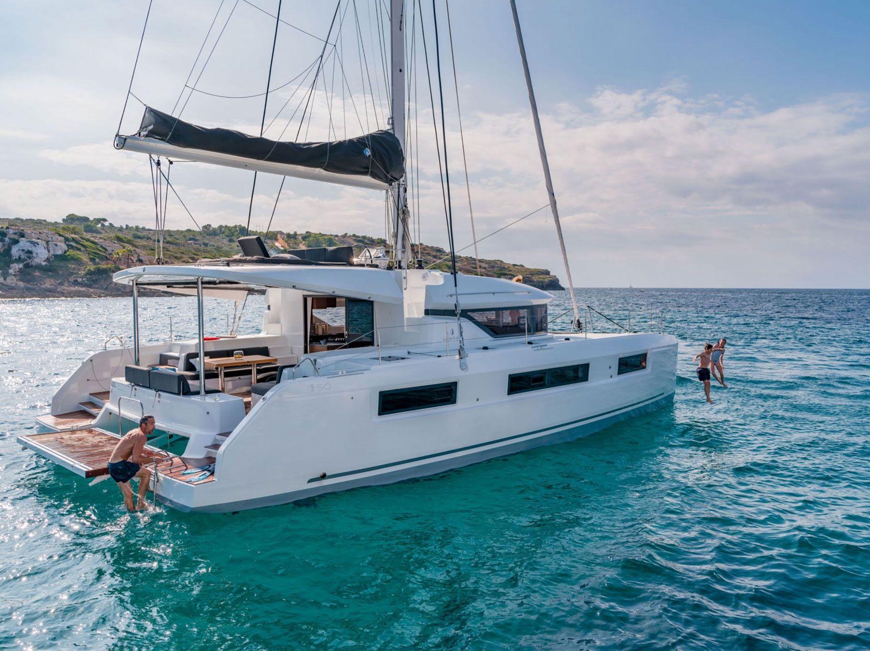 SIMONE - Lagoon 50 - 6 Cabins - Nassau - Exumas - Staniel Cay