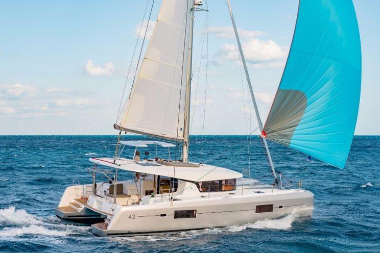 Charter Yacht Lagoon 42 - 4 + 2 cabins(4 double 2 single)- 2019 - Mykonos