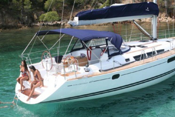 Charter Yacht Sun Odyssey 49i - 4 Cabins - Corfu Greece
